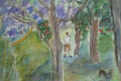 En tur i parken i Aroyo de la Miel,