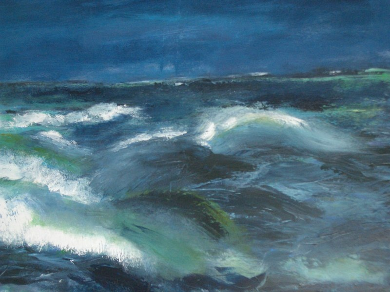 Oprørt hav